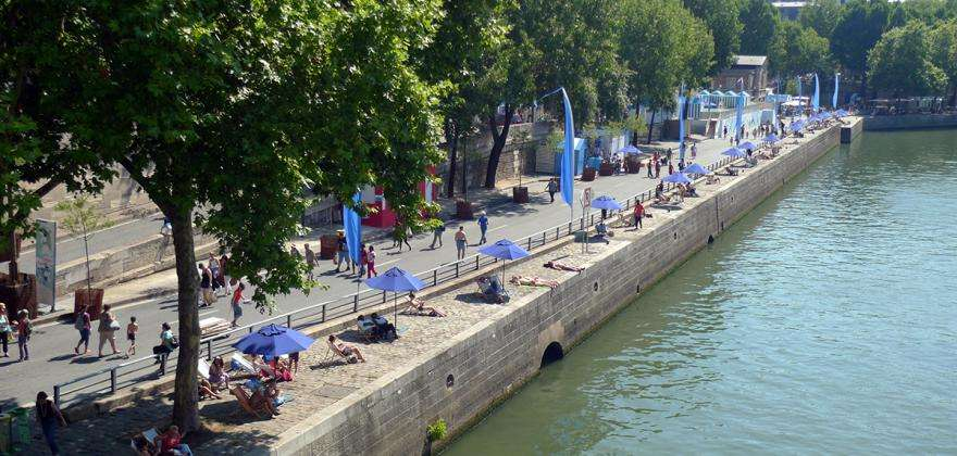Summer will be hot on the beaches of Paris