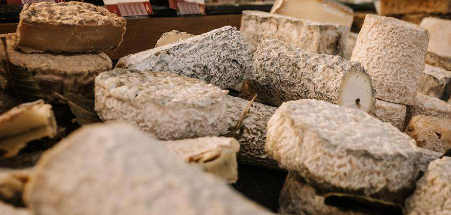 Focus on the Fromagerie Androuët, just a short stroll from the hotel